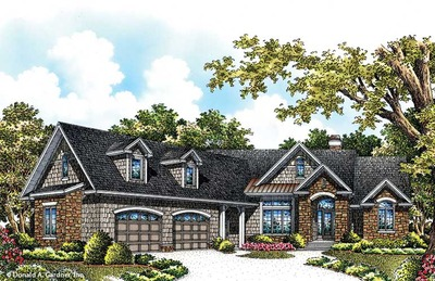 House Plan The Hunter Creek