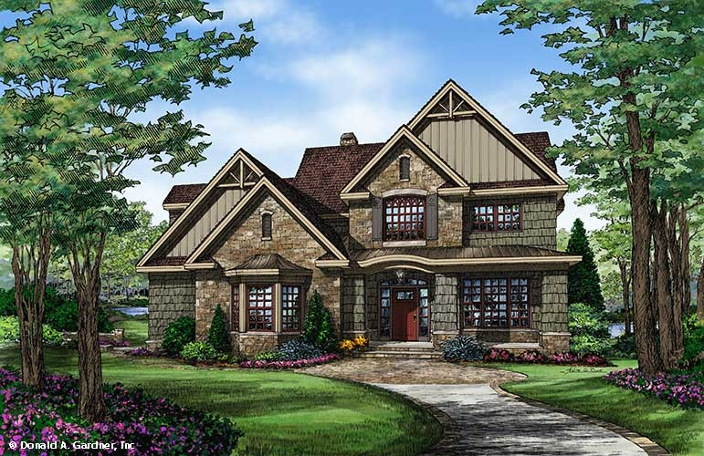 Home Plan The Braxton