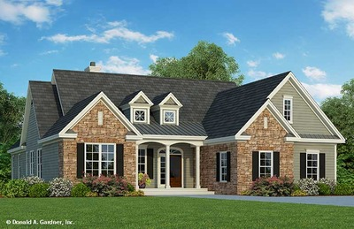 Walkout Basement House Plans and Floor Plans Don Gardner