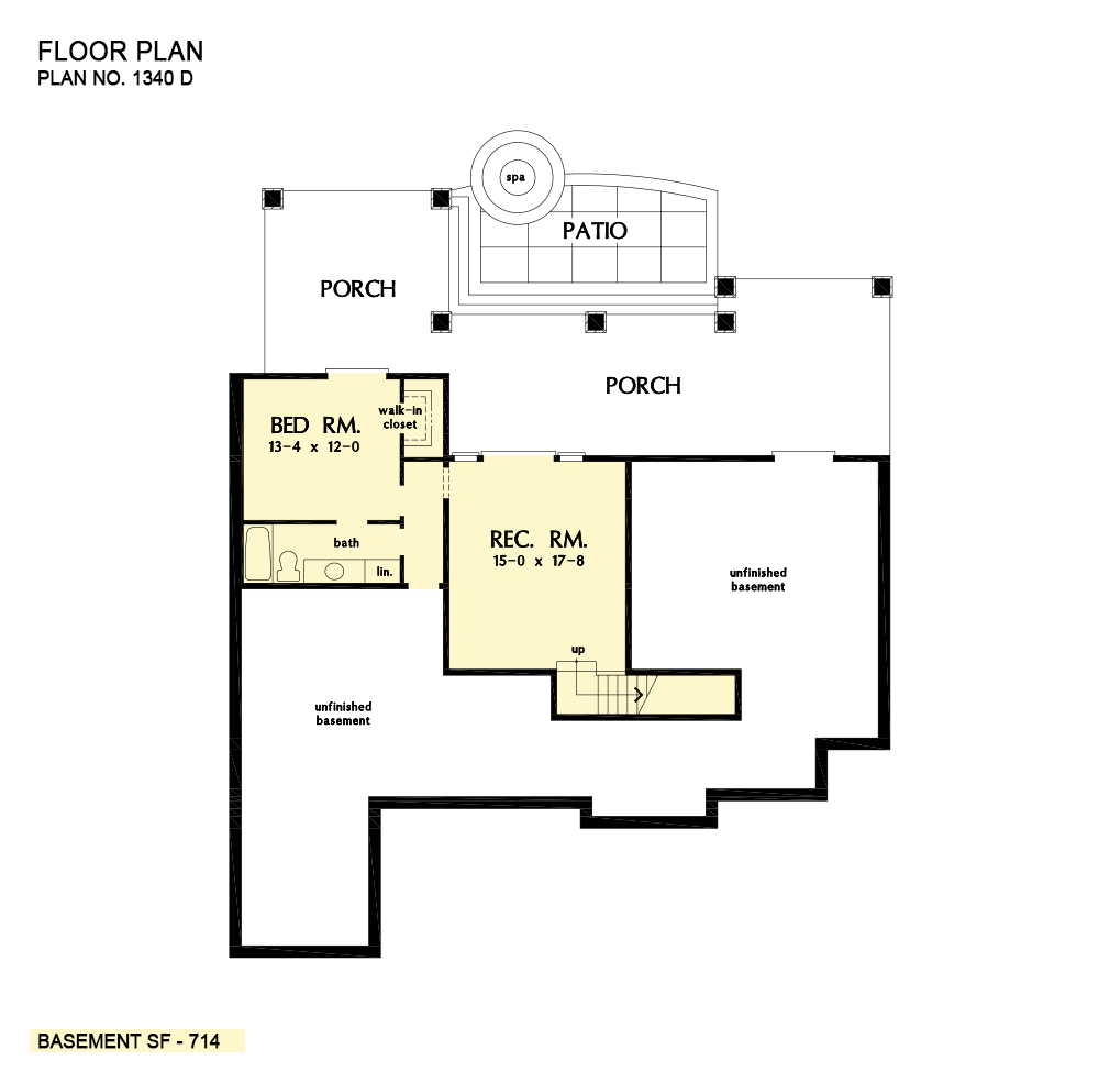 House Plan The Brodie By Donald A Gardner Architects