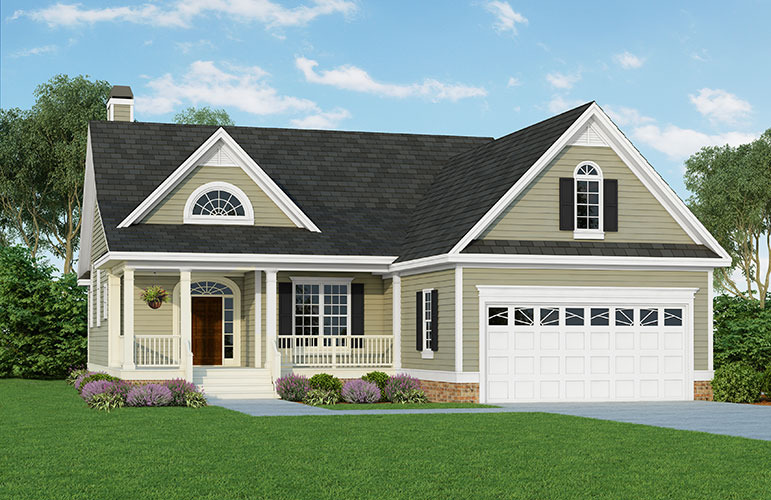 House Plans For Narrow Lots plan 15044nc cottage for narrow lot House Plan The Darcy