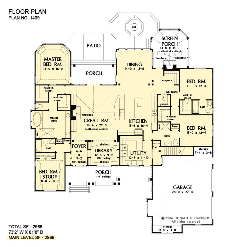 Luxury Home Plans | Ranch House Plans | Donald Gardner on flat ranch floor plans, 1 bedroom lake house plans, 7 bedroom ranch floor plans, luxury ranch floor plans, 2 bedroom loft floor plans, 1 bedroom cape cod house plans, house ranch floor plans, studio floor plans, home ranch floor plans, 1 bedroom small house plans, garden ranch floor plans, catwalk floor plans, 8 bedroom ranch floor plans,