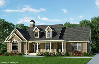 House Plan The Overbrook