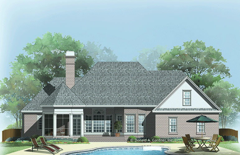 Home Plan The Waterford By Donald A Gardner Architects