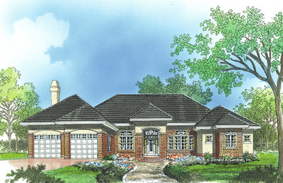 House Plan The Monticello