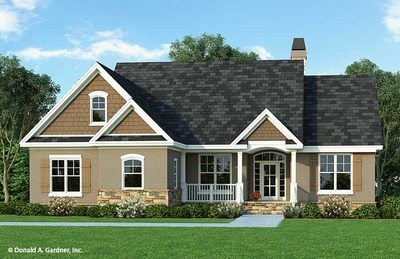 House Plan The Tanglewood