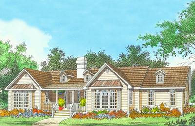House Plan The Wingate