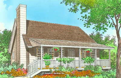 House Plan The Sweetbriar